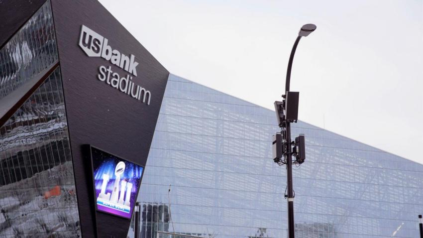 Verizon preps for Super Bowl 52 with massive upgrades across Minneapolis.