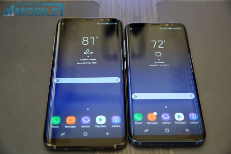 Galaxy S9 vs Galaxy S8: Display & Design