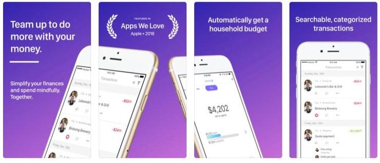 Honeyfi Budget App for Couples