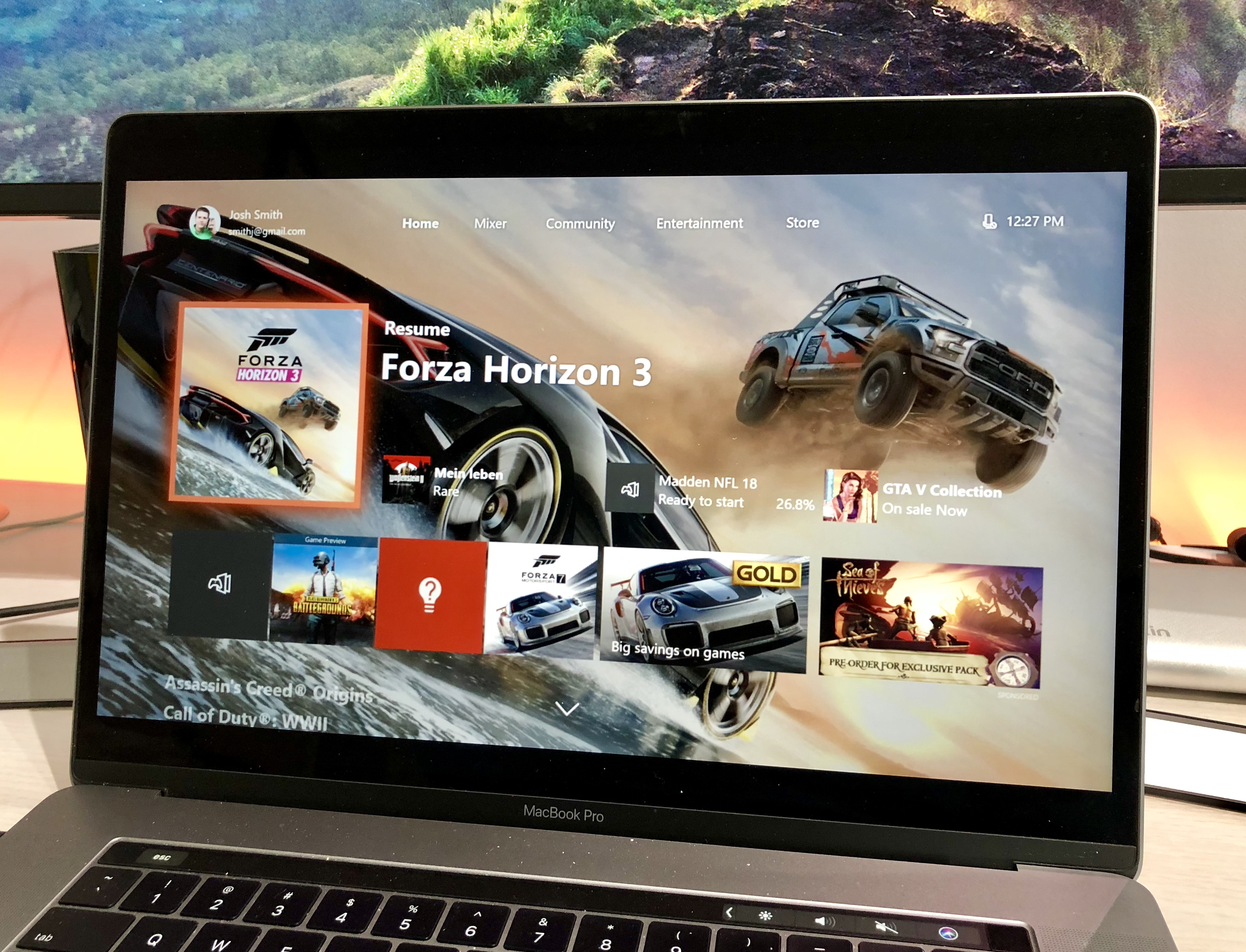 can i play xbox games on a mac