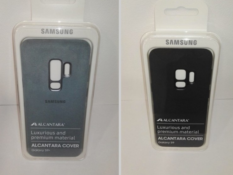 Galaxy S9 Alcantara Case