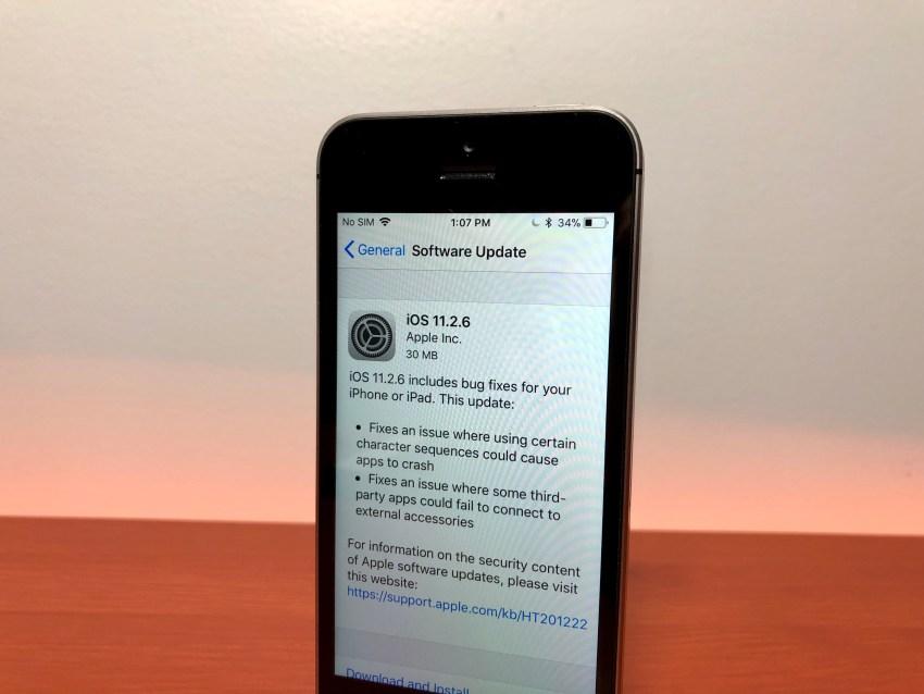 iPhone SE iOS 11.2.6 Impressions