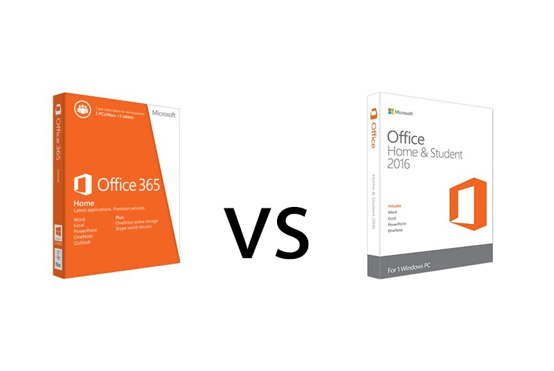 Office 365 vs Office 2016: Which is Better?