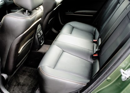 2018 Chrysler 300 Review - Back Seat
