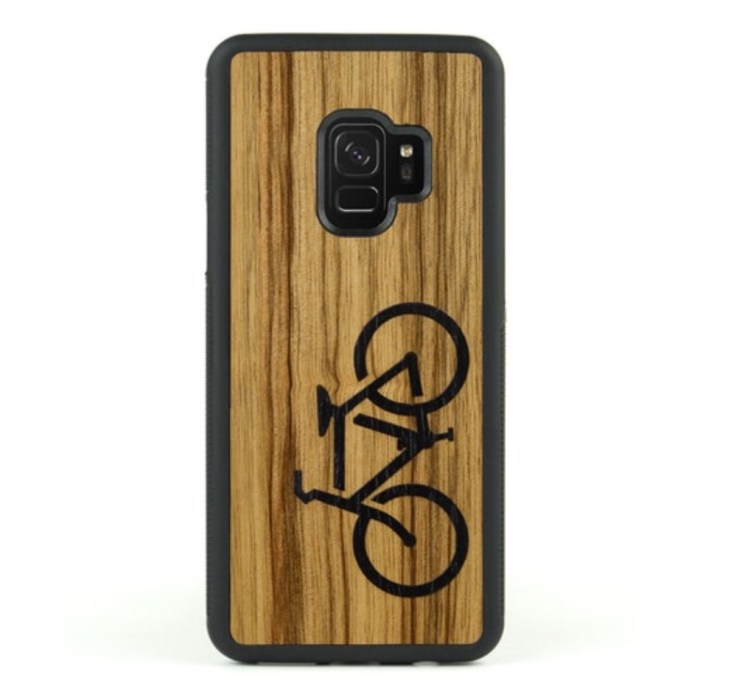 CARVED Real Wood Case ($29)