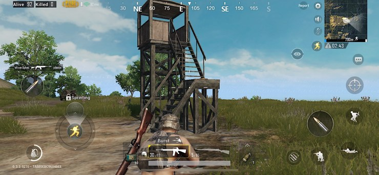 PUBG Mobile is a third person shooter where you loot weapons and gear and fight to be the last person alive.