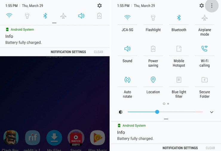 How to Customize the Galaxy S9 Notification Bar