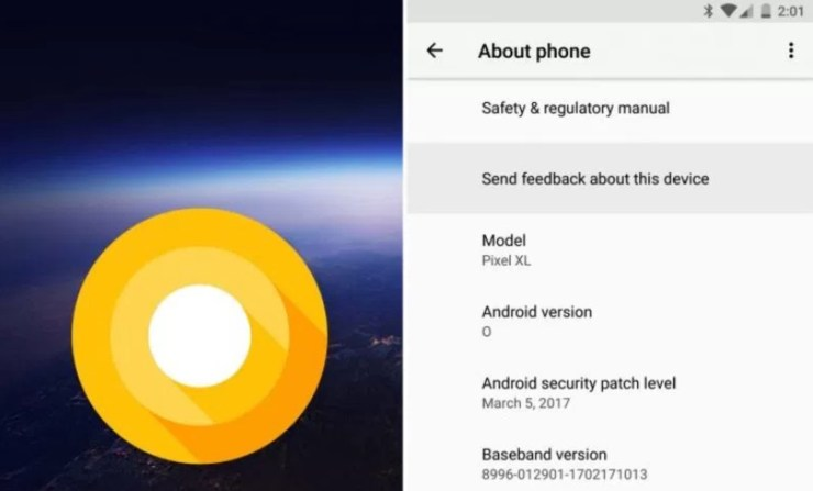 Install Android P to Help Improve the Software