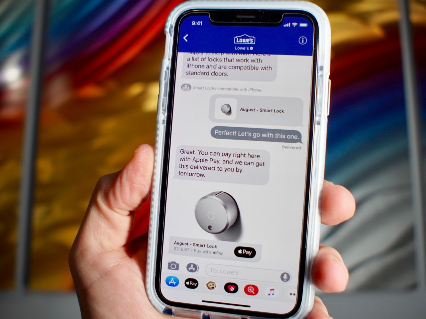 Install iOS 11.3 for Business Chat in Messages