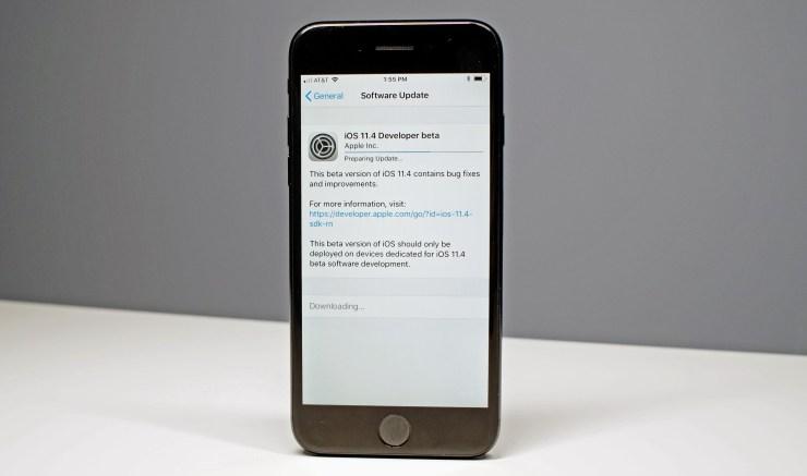 Install to Help Apple Improve iOS 11.4