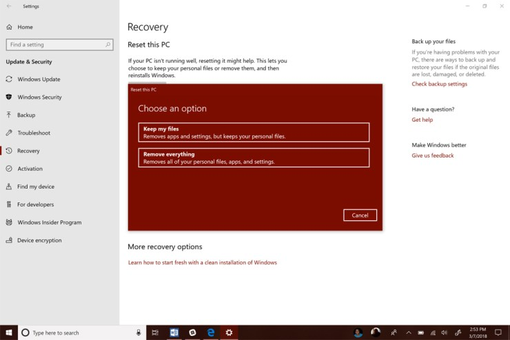 How to Reset Windows 10 & Get a Clean Install