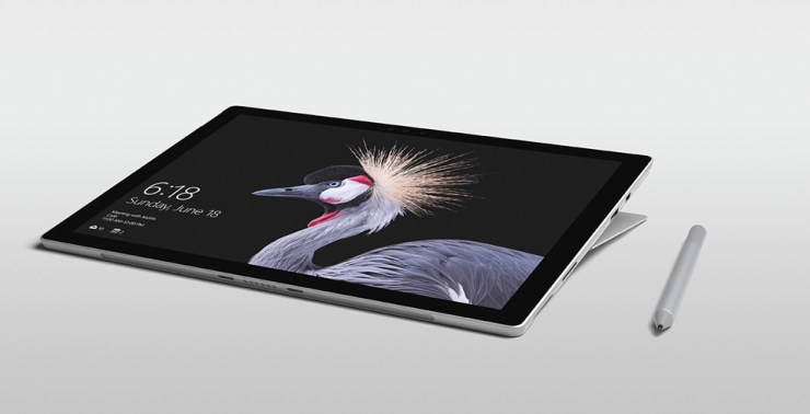 Surface Pro Has a Kickstand Without a Case