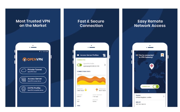 OpenVPN Connect (free)