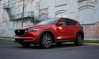 The 2018 CX-5 looks great on the outside as well.