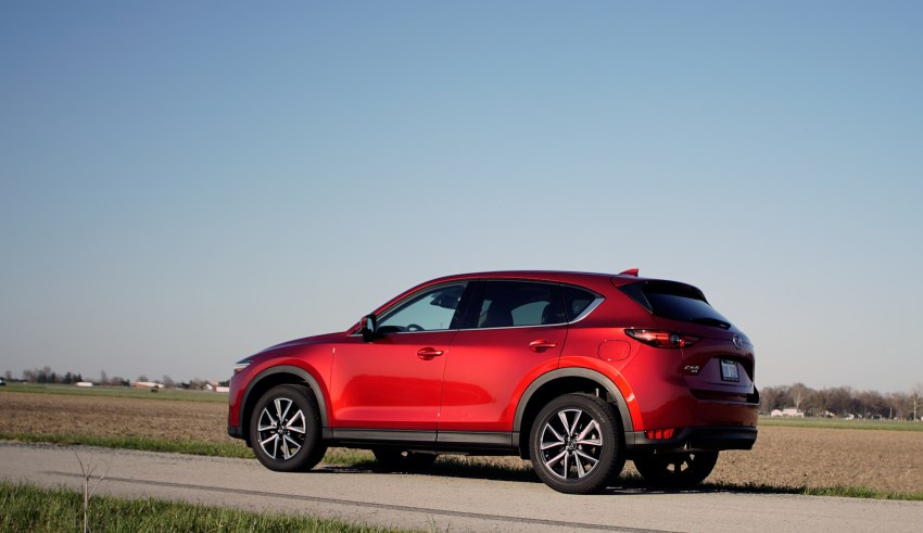 It's fun to drive the CX-5.