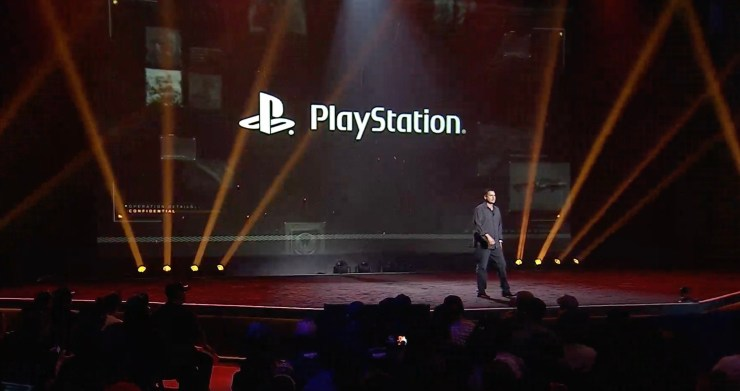 PlayStation was a major part of the event.