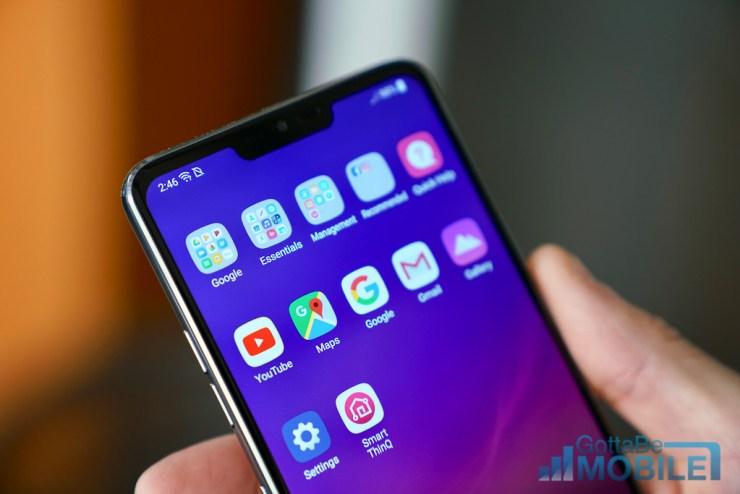 LG G7 vs Pixel 2 XL: Display