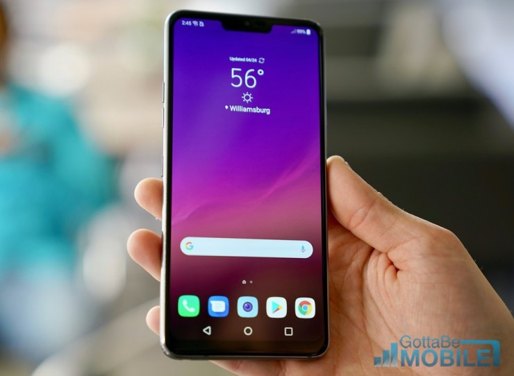 How to Change the LG G7 Text Message App
