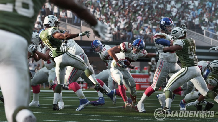 EA shares details on new Madden 19 features.