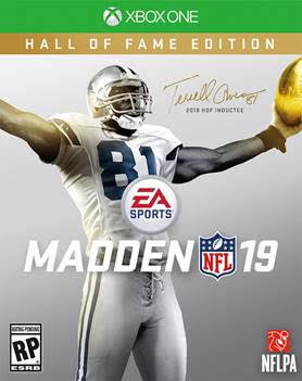 One of the Madden 19 cover athletes.