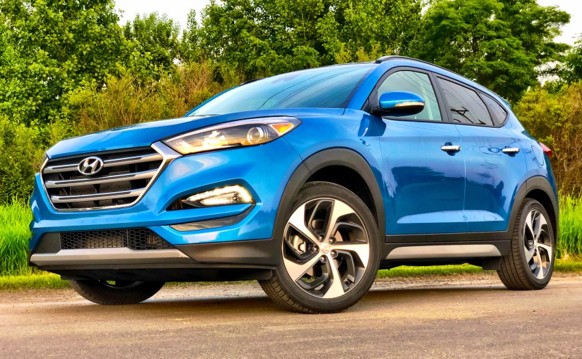The Hyundai Tuscon is a very good SUV.