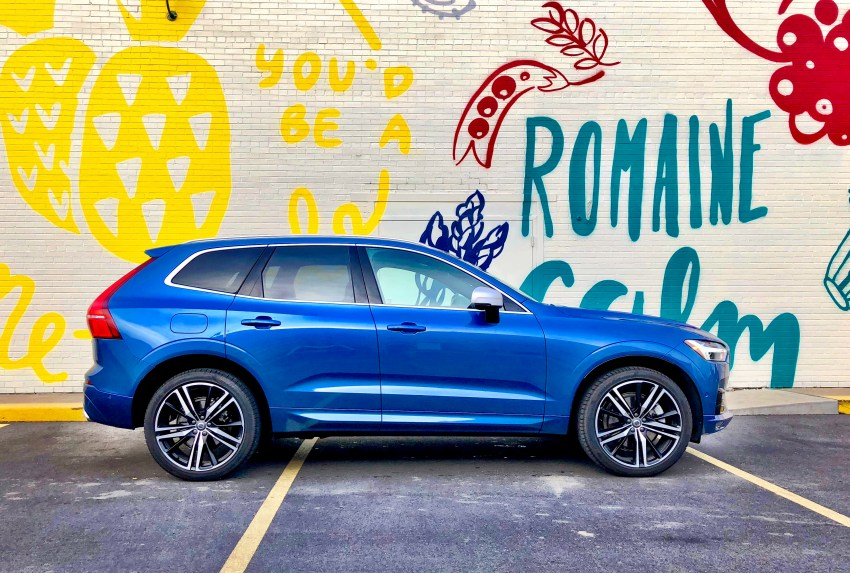 The Volvo XC60 is an excellent small SUV.