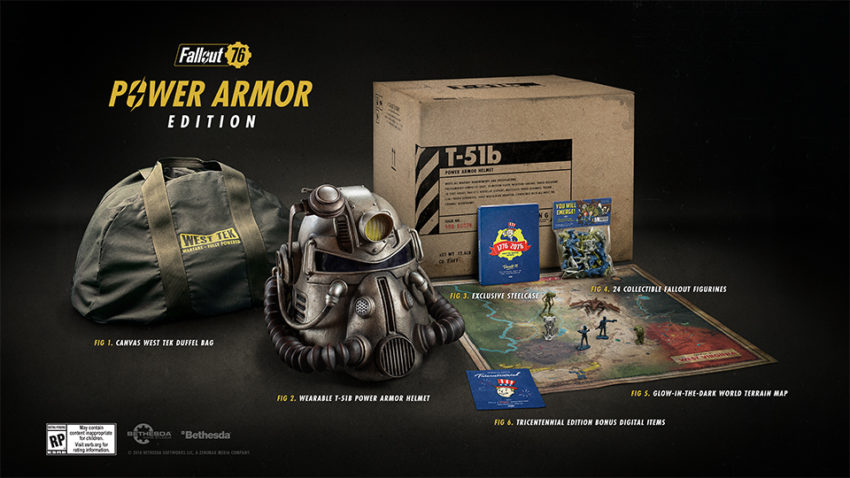 Pre-Order If You Want the Power Armor Edition