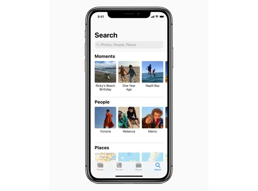 Photos Upgrades in iOS 12