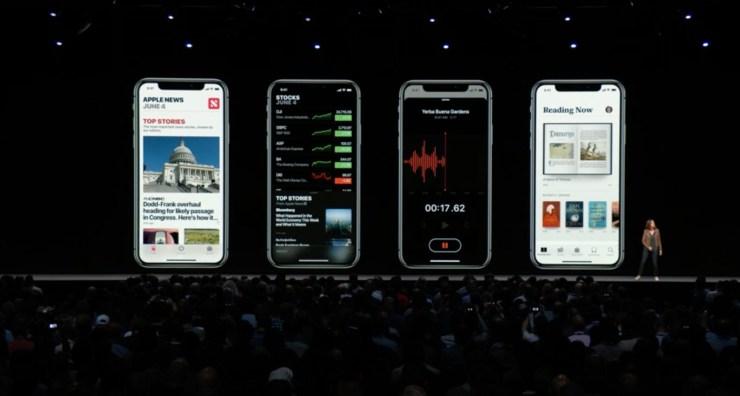 iOS 12 App Updates from Apple