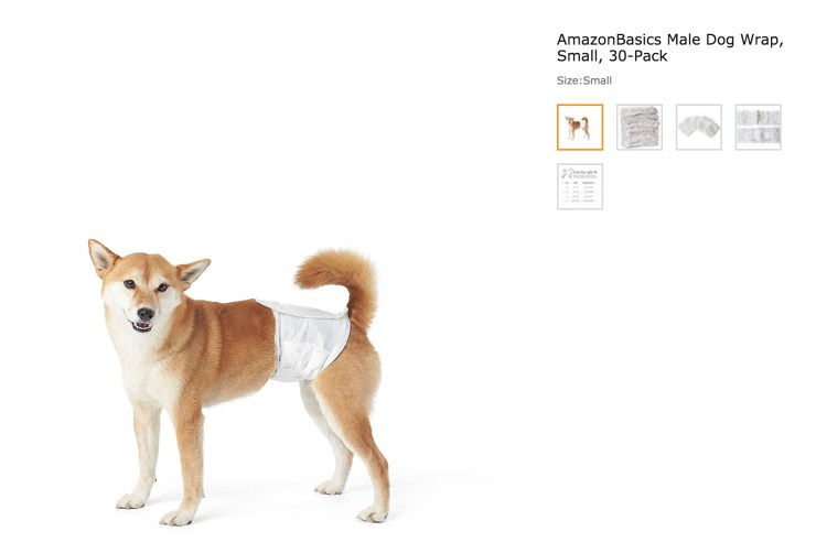 Amazon Basics Dog Diapers