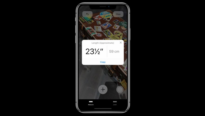 Measure App in iOS 12