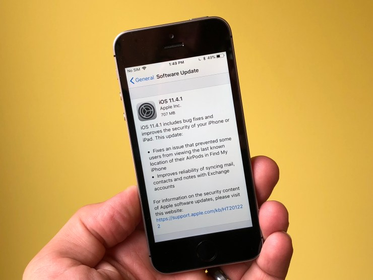 iPhone SE iOS 11.4.1: What's New