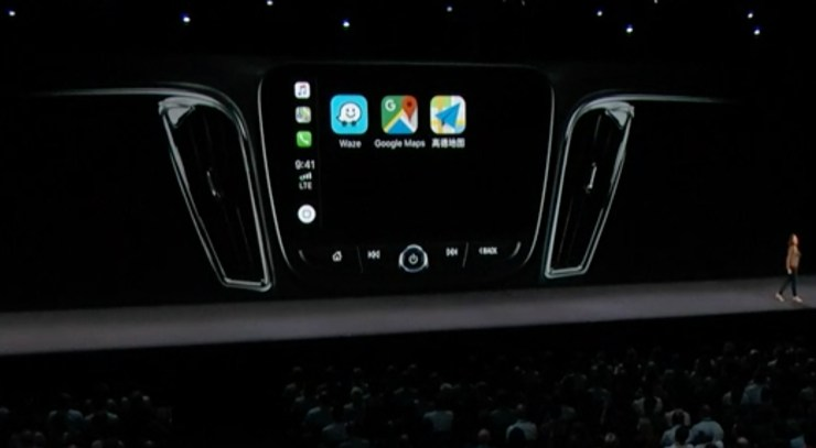 Apple CarPlay Gains Third Party Maps