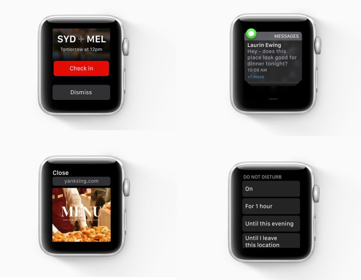 Better notifications and improved Do Not Disturb are part of watchOS 5.