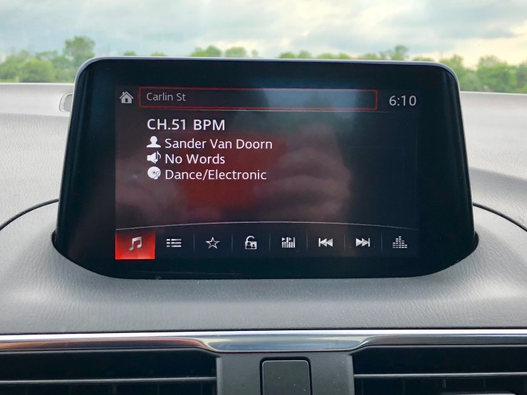 The infotainment system is good, but lacking CarPlay or Android Auto right now.