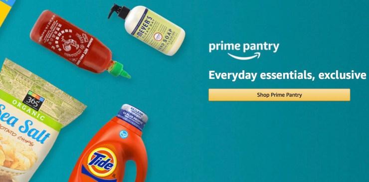For Amazon Prime Subscription Savings & Amazon Pantry