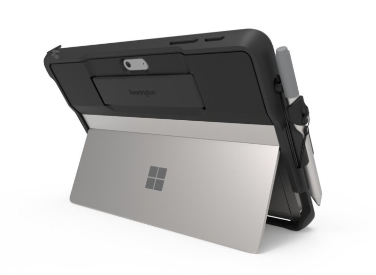 Kensington BlackBelt Rugged Surface Go Case