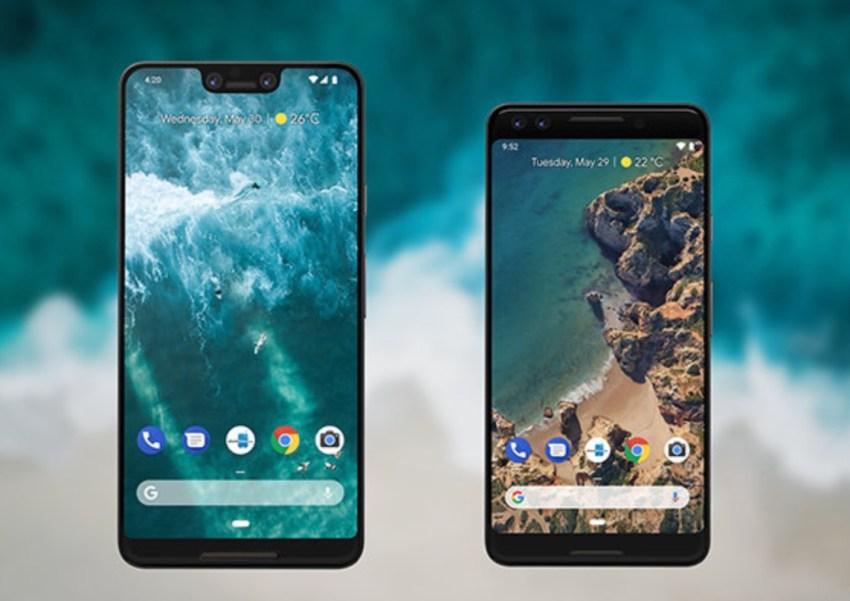 Galaxy Note 9 vs Pixel 3: Design