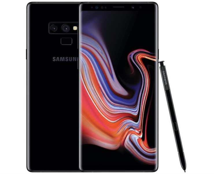 Galaxy Note 9 vs Note 8: Design & Display