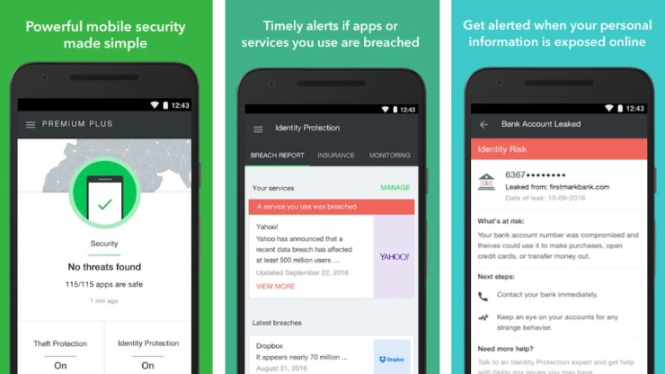 lookout mobile security vs avast