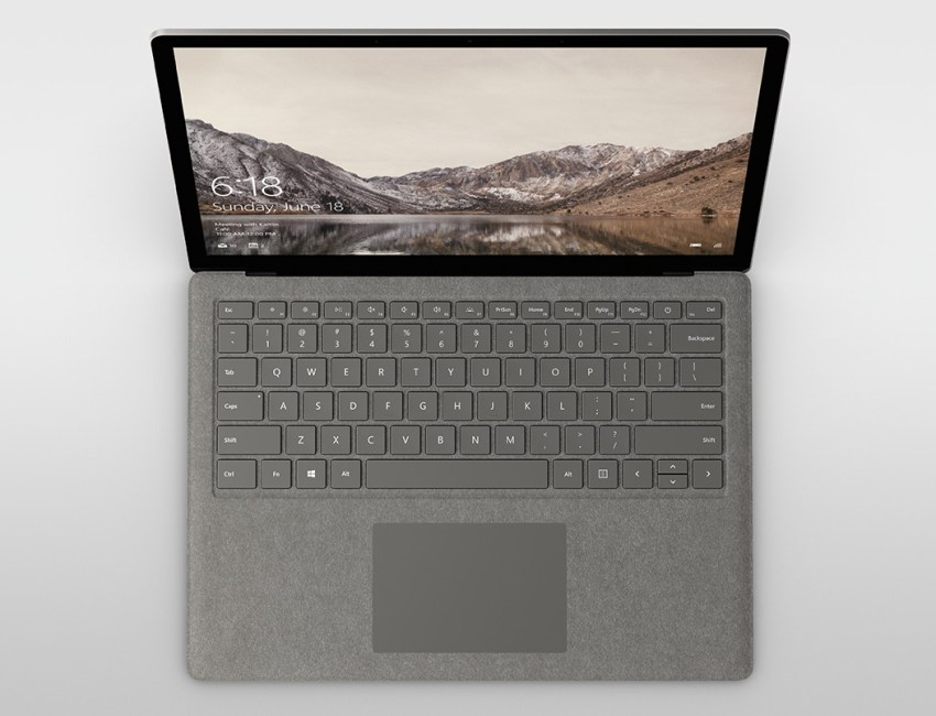 The Surface Laptop is an affordable MacBook Pro alternative.