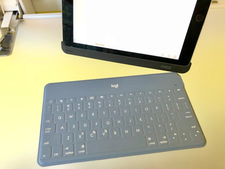 Connect a Keyboard for More Productivity