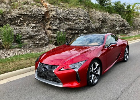 2018 Lexus LC 500h Review - 2