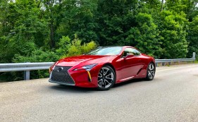 2018 Lexus LC 500h Review - 7