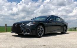 2018 Lexus LS 500 F Sport Review - 16