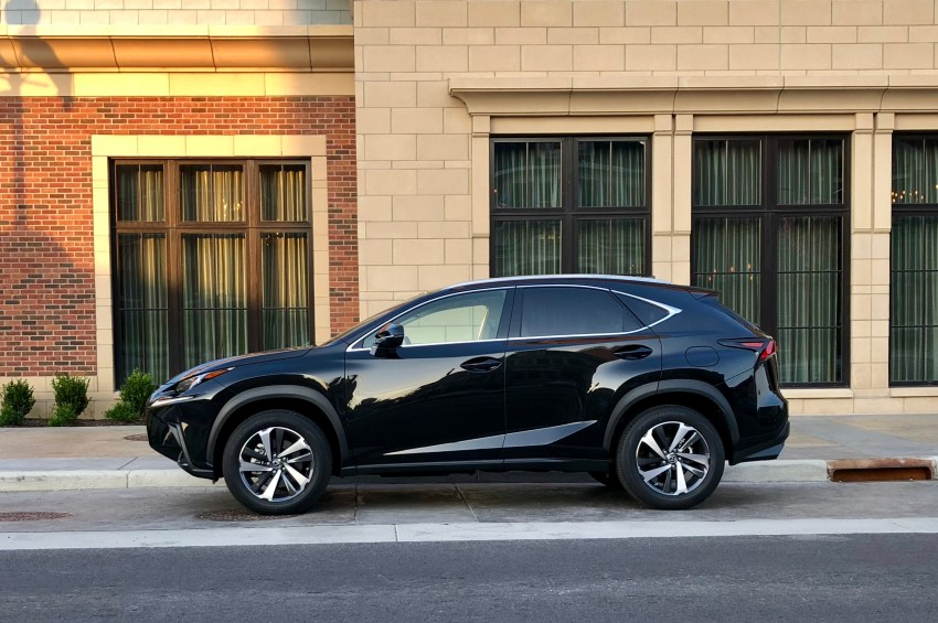 The 2018 Lexus NX is a good compact luxury SUV.