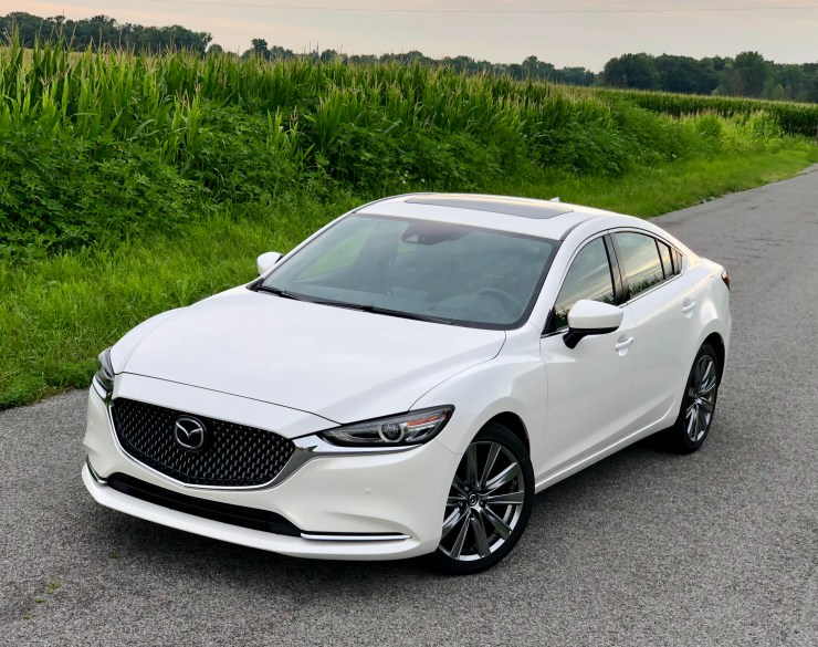 The Mazda 6 exterior is sporty and stylish.