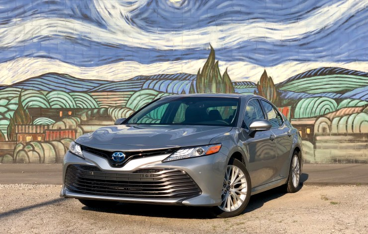 The all new 2018 Camry Hybrid XLE.