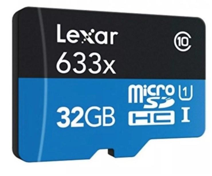 Lexar 32GB MicroSD (Cheap option)