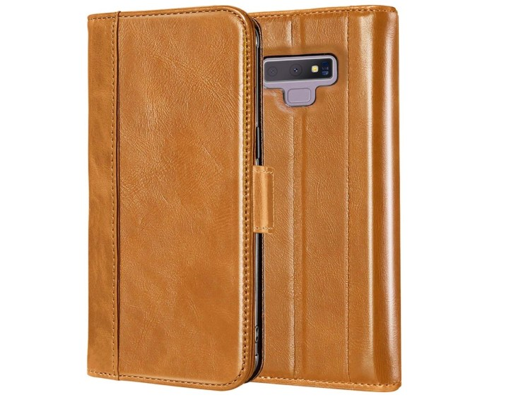 ProCase Genuine Leather Flip-Wallet